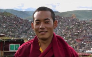Trungpa XII Rinpoche at Serta Monastery