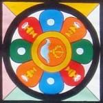 mandala centerpiece