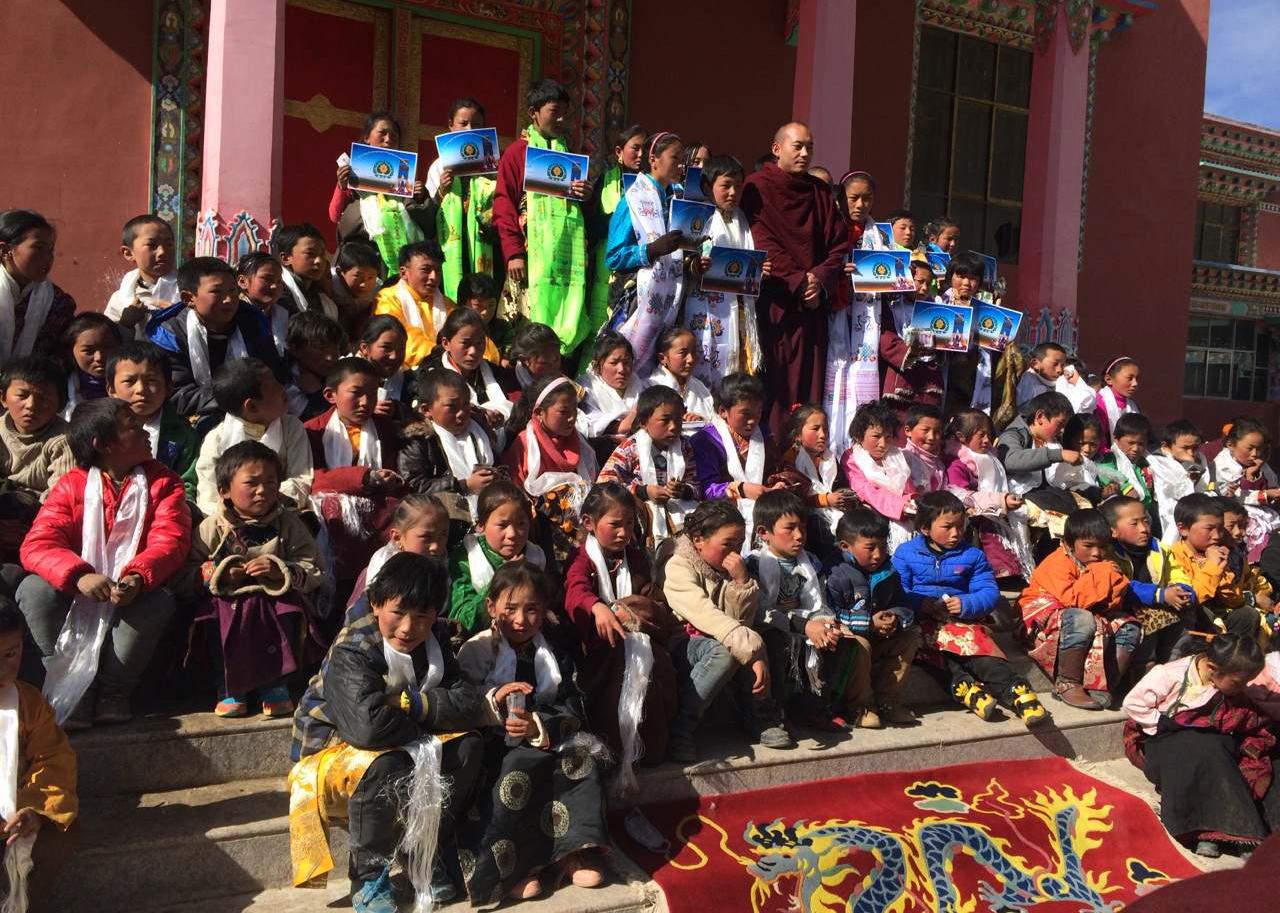 TR & students from children's program