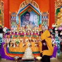 Parinirvana Commemoration at Surmang Dutsi Til