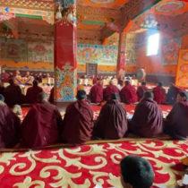 Nuns Celebrate at Surmang Kyelaka